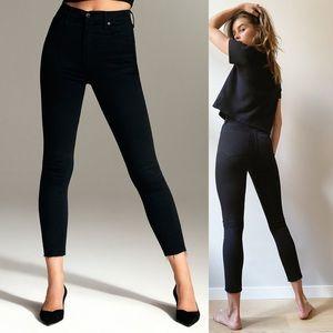 Aritzia denim forum 23 Lola high rise skinny jeans